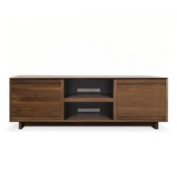 AERO 76 LP Storage Console Walnut