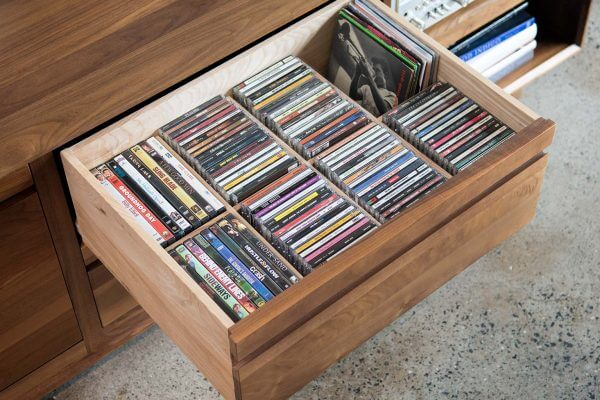 AERO CD DVD Vinyl Drawer Storage