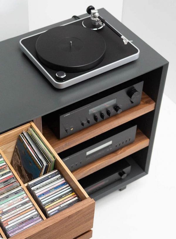 AERO Stereo Cabinet CD Storage