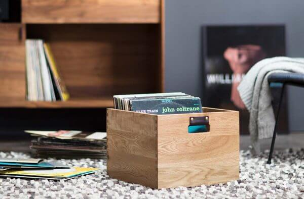 Dovetail Record Crate Floor