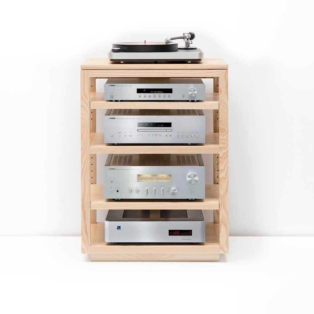 Dovetail Audio Rack Ash