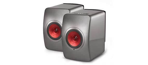 KEF LS50W Wireless Speaker Grey