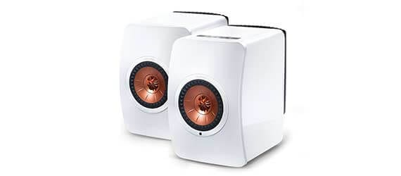 KEF LS50W Wireless Speaker White