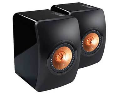 KEF LS50 Speakers Black