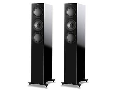 KEF R5 Reference Speakers Black