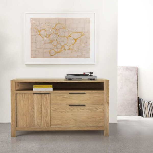 Modern File Cabinet Solid Wood in Home Office
