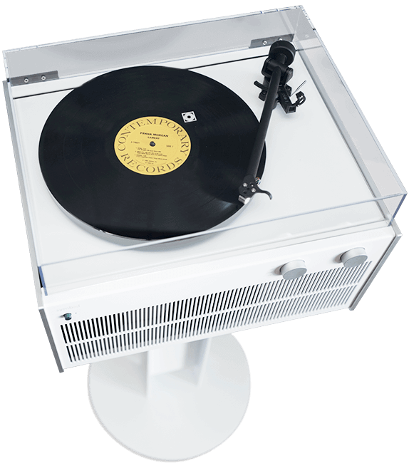 Modern Record Player Turntable