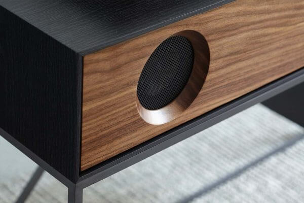 Stereo Console Table Speaker Detail