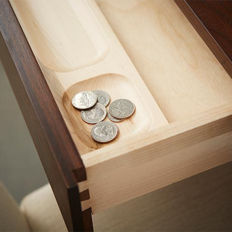 Solid Wood Pencil Drawer