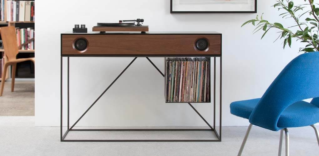 Stereo Console Table