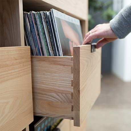 Dovetail Vinyl Storage Drawers